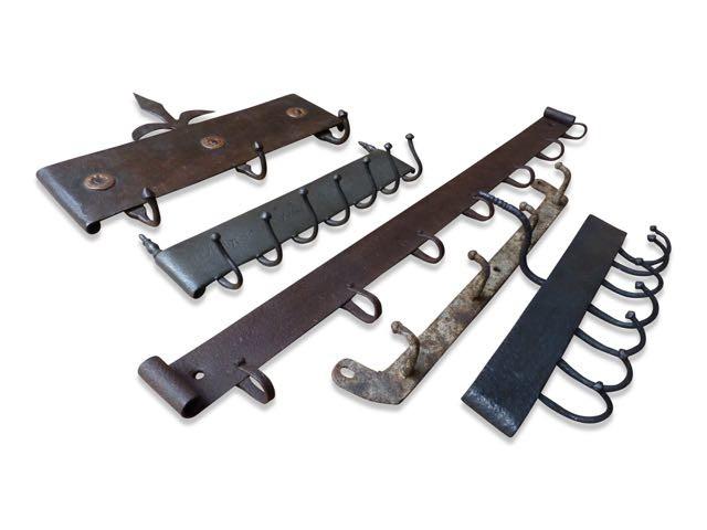 Antieke hangers voor een haardset te koop