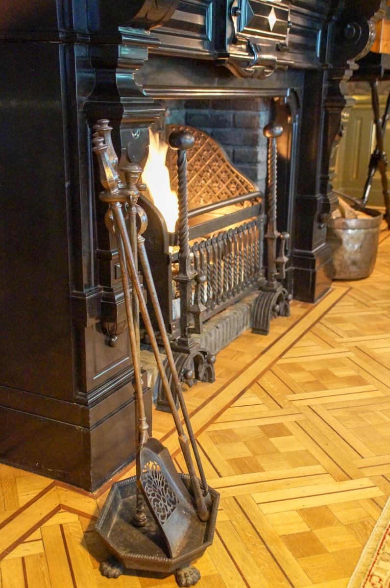 Antieke haardaccessoires in Nederland
