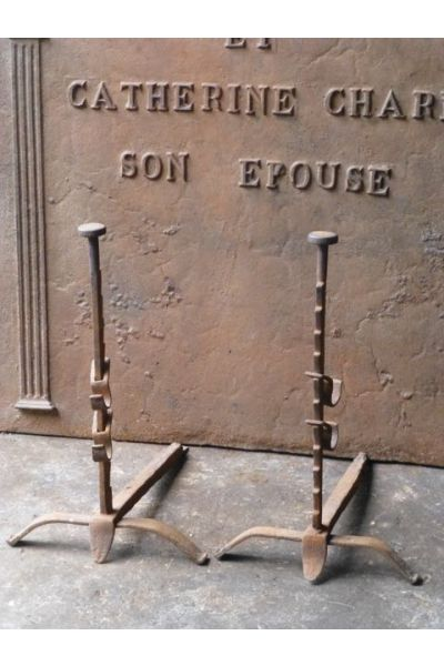 Louis XV Vuurbokken van 15