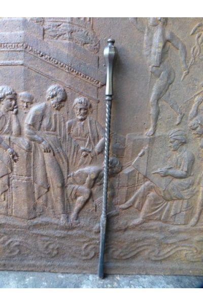 Antieke Engelse Kachelpook van 15