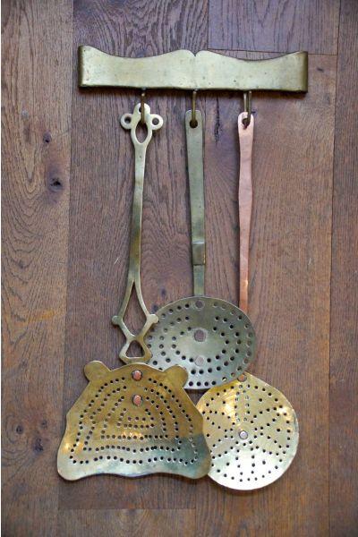 Antieke Nederlandse Haardset van 15,16,31