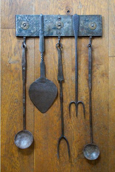 Antieke Nederlandse Haardset van 15,16