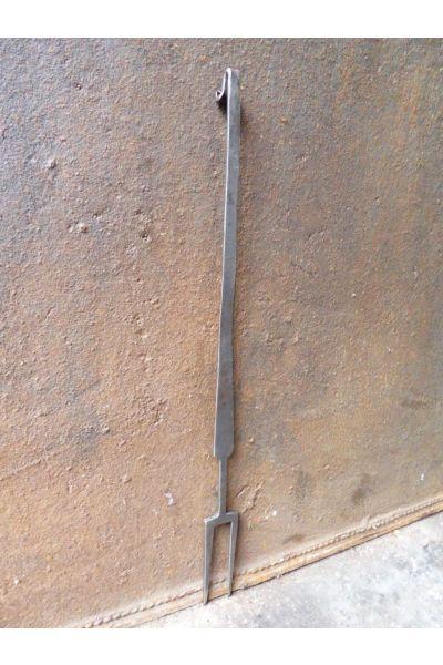 Antieke Haardvork van 32