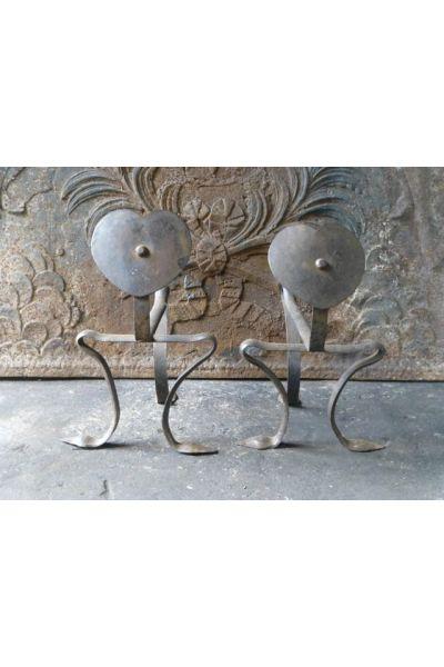 Art Nouveau Liggers Haardset van 15