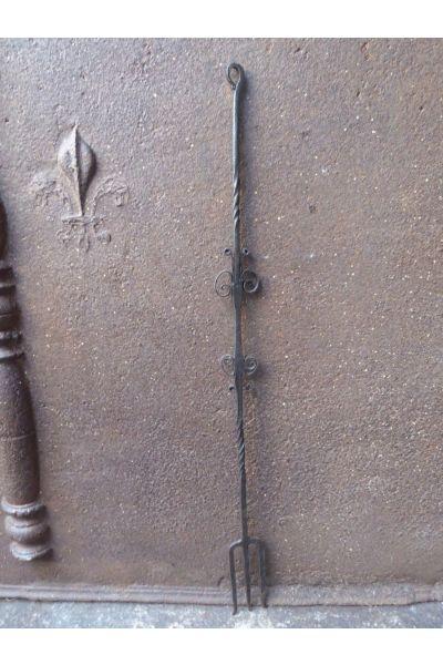 Antieke Haardvork van 15