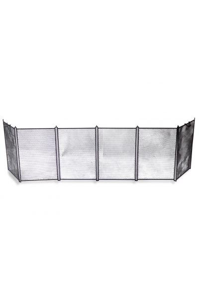 Groot Frans Haardscherm | Handgemaakt, Nieuw | 160-185 cm van 15