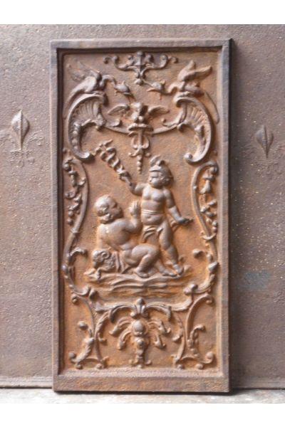 Haardplaat 'Mercurius' van 14