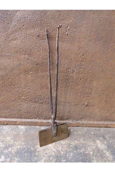 Antiek Wafelijzer van 15,16