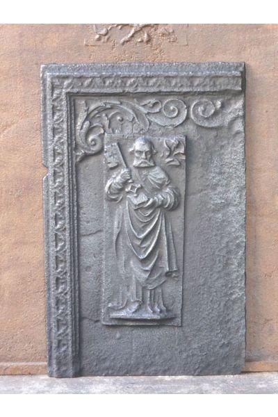Haardplaat 'Heilige Petrus' van 14