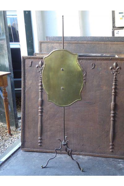 Antiek Frans Haardscherm van 15,16