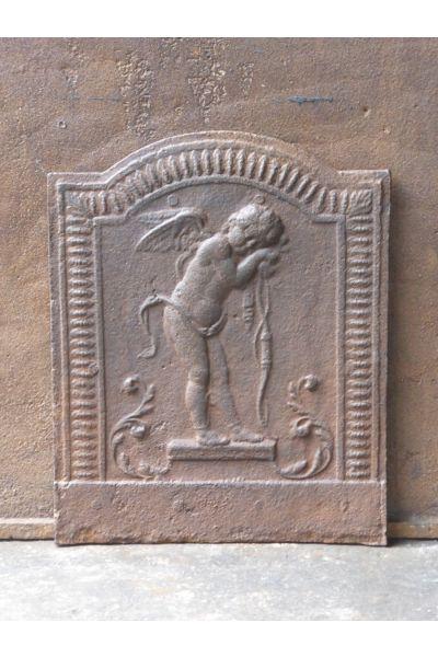 Haardplaat 'Cupido' van 14