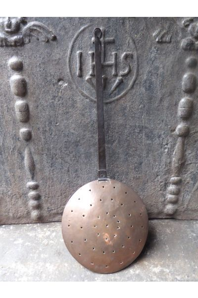 Antieke stoof - bedkruik - beddenpan (koper) van 15,31