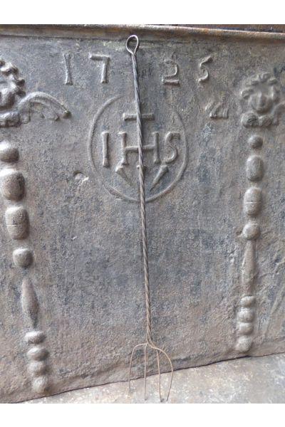 Antieke Haardvork van 155