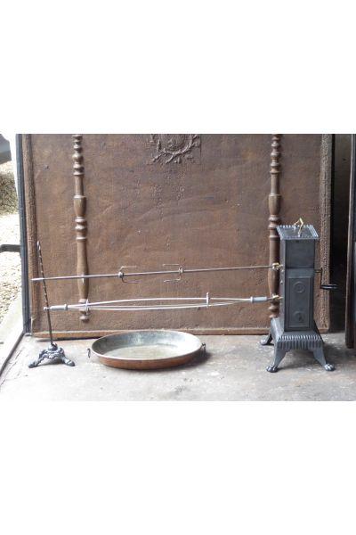 Grote Antieke Haard Grill van 14,15,16,47