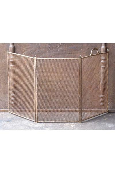 Antiek Frans Vonkenscherm van 16,154,155