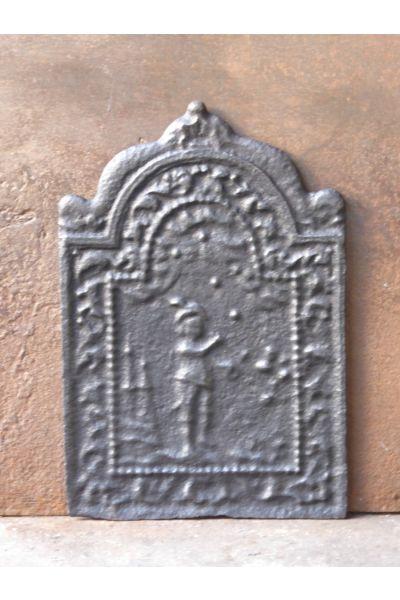 Louis XIV Haardplaat van 14