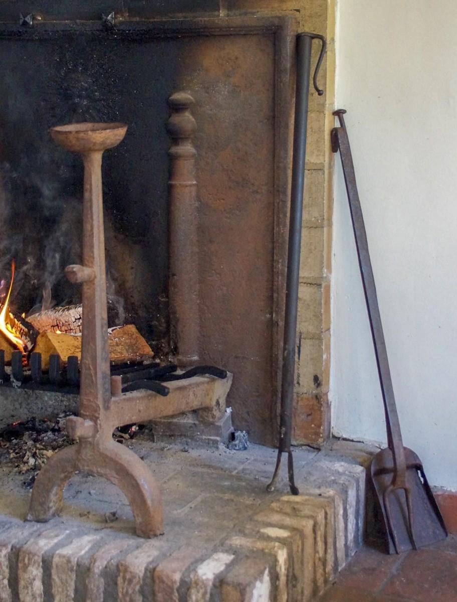 Antieke haardstellen te koop
