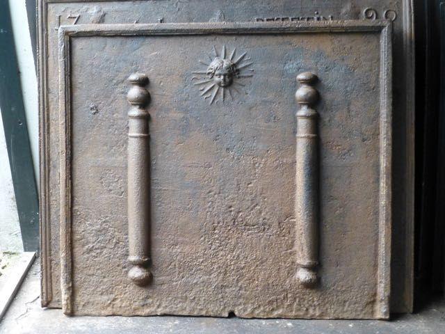 Lodewijk 14 openhaardplaat