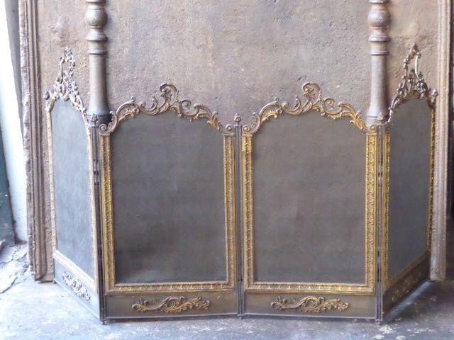 Lodewijk 15 haardscherm