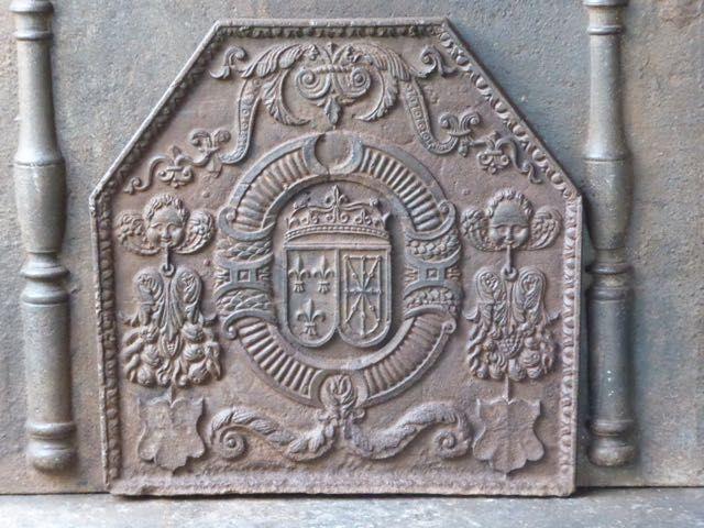 Lodewijk XIII openhaardplaat