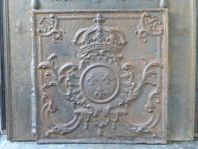Lodewijk XV haardplaat