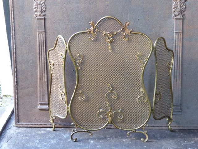 Louis XV openhaardscherm